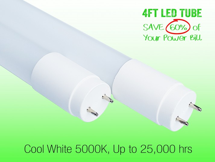 1.2m Glass LED Tube Lights T8